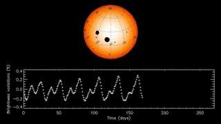 The fluctuations of a typical sunlike star are much stronger than those of the Sun.