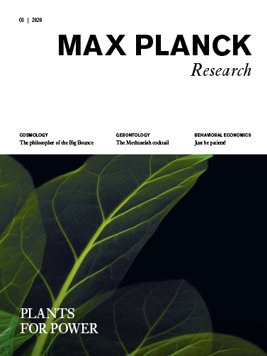 MaxPlanckResearch 1/2020 - Plants for Power