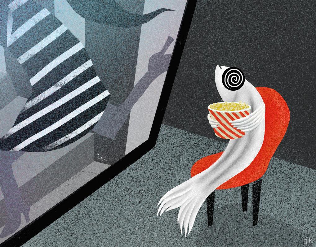 Mit Hilfe der Wasserfall-Illusion konnten Wissenschaftler in Zebrafischen Nervenzellen identifizieren, die für das Bewegungsehen relevant sind.