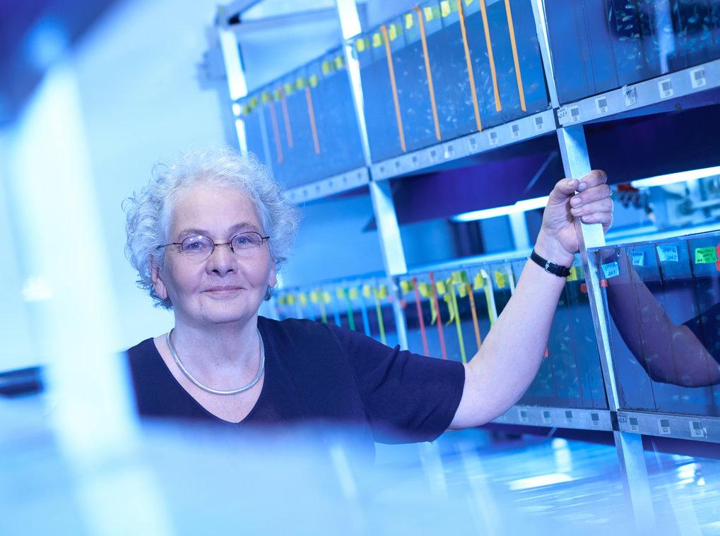 Christiane Nüsslein-Volhard arbeitet immer noch häufig am Institut in Tübingen. Auch nach ihrer Emeritierung