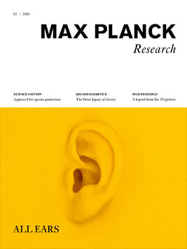 MaxPlanckResearch 2/2020 - All Ears