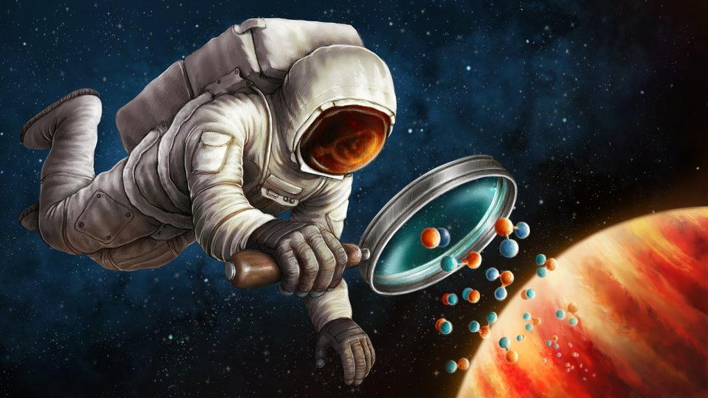 Die Reise zu fernen Welten ist zwar noch Fiktion, dennoch gelang den Forschenden eine interessante Entdeckung: Sie analysierten die Spektren des Exopl