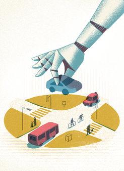 Kein Spiel mehr: Auf einzelnen Teststrecken sind bereits komplett autonom fahrende Fahrzeuge unterwegs. Doch laut Umfragen vertraut ihnen nur eine kna