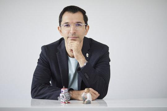 Vielseitig: Iyad Rahwan hat Informatik studiert, interessiert sich aber auch für psychologische und philosophische Fragestellungen. Im Forschungsberei