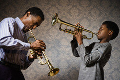 The more musicians synchronize and coordinate their movements while playing, the better a duet sounds.
