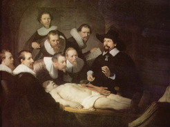 'The Anatomy Lesson of Dr. Nicolaes Tulp' by Rembrandt van Rijn, 1632