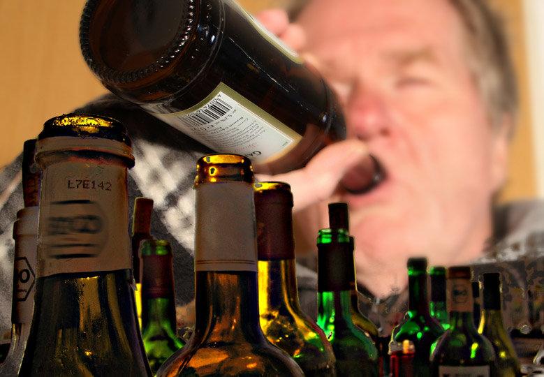 Die Werbung gegen den Alkoholismus für die Teenager