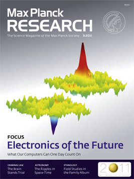 MaxPlanckResearch 3/2011 - Focus: Electronics of the future