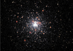 The NGC 6624 globular cluster in the Sagittarius constellation. The astronomers have identified a total of six pulsars in this globular cluster to date; the first one was J1823-3021A.