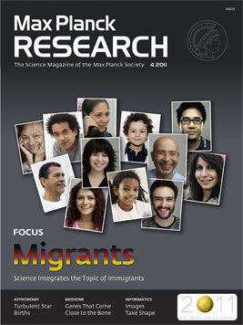 MaxPlanckResearch 4/2011 - Focus: Migrants
