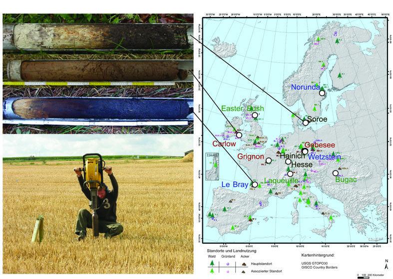 Unser wichtigster kohlenstoffspeicher max planck for Bodentypen der erde