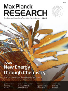 MaxPlanckResearch 2/2012: New Energy through Chemistry