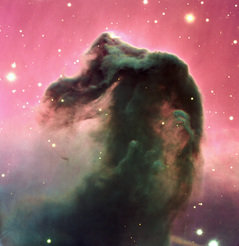 The distinct Horsehead Nebula in the Orion constellation is not only a favourite object of astronomy photographers all over the world, but apparently also a cosmic petroleum refinery.