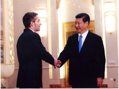 On Wednesday, December 5, 2012, the new Chinese president Xi Jinping met with 20 foreign experts, one of them Philipp Khaitovich, director at the PICB. It was actually the first meeting of the president with foreigners in his new position.