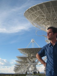 Unterwegs im Weltall: Der Astronom Fabian Walter hat viele Jahre lang am <em>Very Large Array</em> in Socorro (US-Bundesstaat New Mexico) gearbeitet.