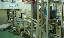 The new neutron spectrometer N-REX+ (Neutron Reflectometry & R-Rays) at the research neutron source Heinz Maier-Leibniz in Garching, Germany.