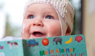 """Sprache bedeutet Kommunikation. Und genau das ist es, was schon Babys antreibt: """"Sie wollen kommunizieren – und nicht eine Sprache lernen."""