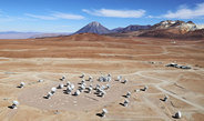 Astronomers have a new window on the universe: The ALMA telescope installation has now officially gone into operation. This array, known as the Atacama Large Millimeter/submillimeter Array, is located atop the Chilean Chajnantor Plateau and will comprise 66 antennas in its final construction configuration at the end of the year.