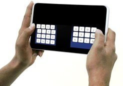 The new KALQ keyboard.