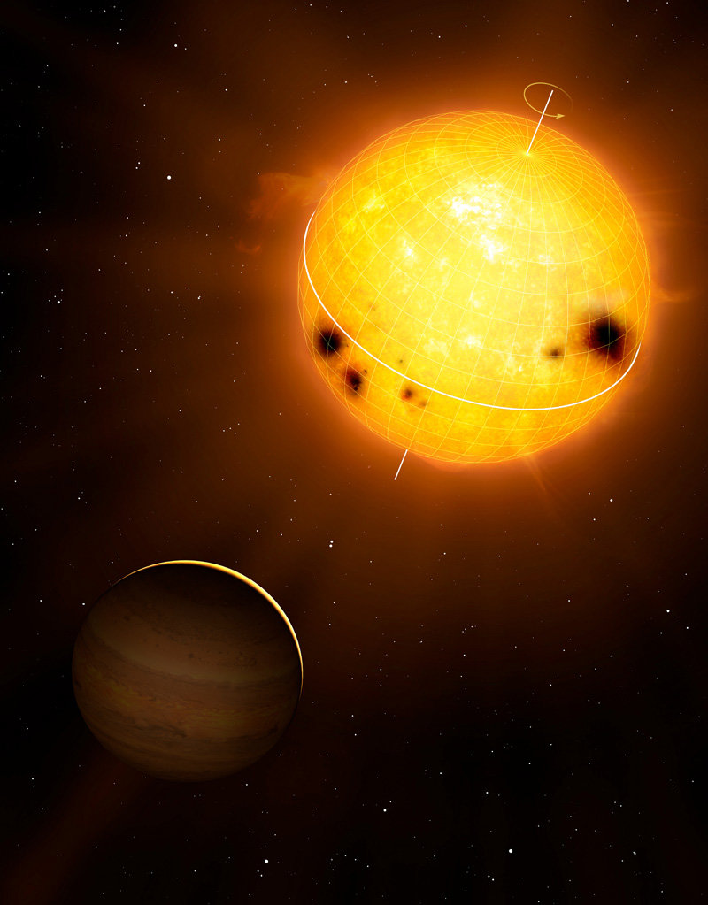 World First: Interior Rotation Of A Star Seen, Planet ...