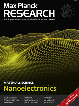 MaxPlanckResearch 1/2014: Nanoelectronics