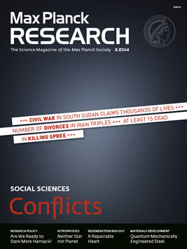 MaxPlanckResearch 3/2014: Conflicts