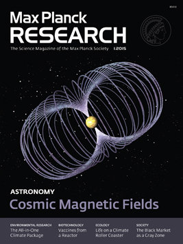 MaxPlanckResearch 1/2015: Cosmic Magnetic Rays