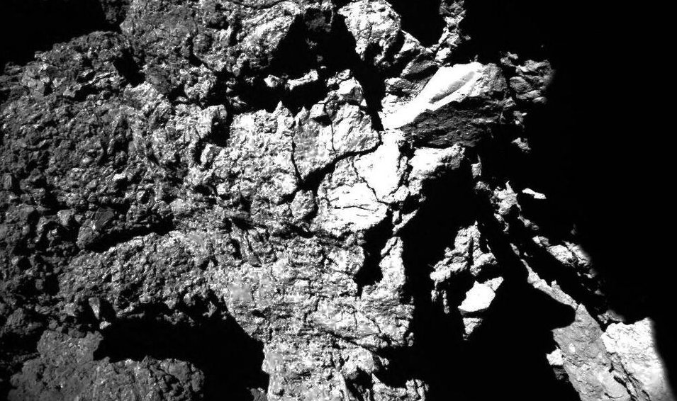 Rosetta's Comet: News from the surface