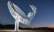 It will be the largest and most sensitive radio telescope in the southern hemisphere. An important receiver system for this giant 'ear 'called MeerKAT comes from the Max Planck Institute for Radio Astronomy in Bonn.