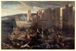 Plague in Marseille 1720